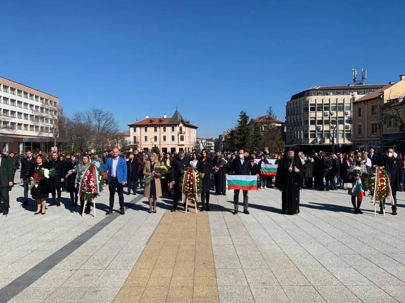 Враца отбеляза 143 години от Освобождението на България, съобщиха от