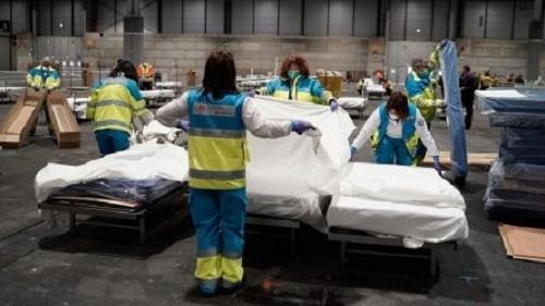 Броят на смъртните случаи от коронавируса в Испания нарасна през
