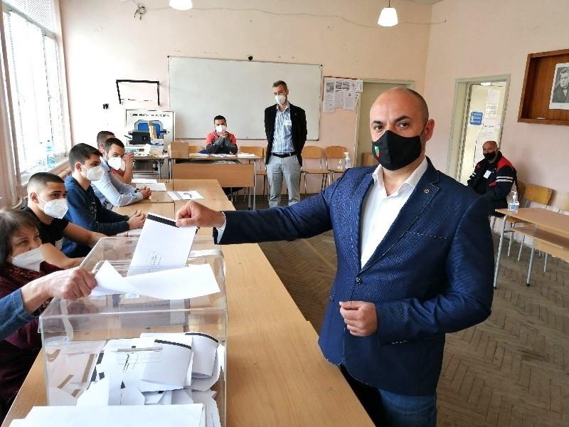 Водачът на листата на ВМРО и досегашен народен представител Красимир