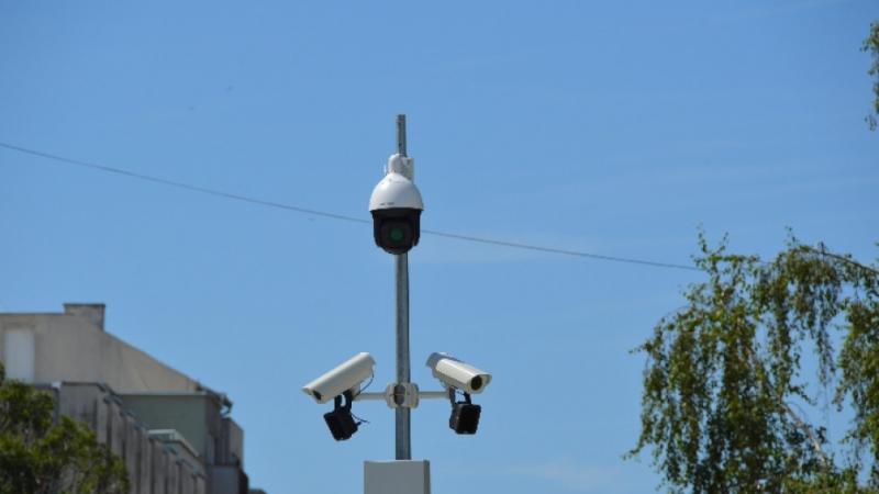 Новото видеонаблюдение в центъра на Видин вече работи. То е