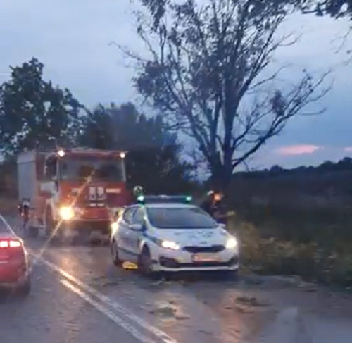 Тежка катастрофа е станала край врачанското село Баница, научи агенция