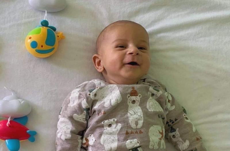 Андриян Илиев е на 3 месеца и съвсем скоро е