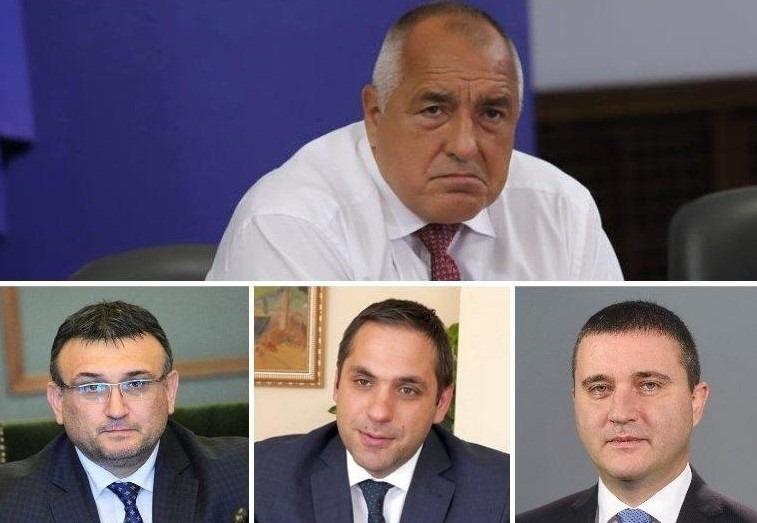 Министрите Горанов, Маринов и Караниколов декларираха пред премиера Борисов готовност
