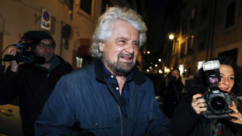 """Синът на италианския стендъп комик Бепе Грило, основател на """"Движение"""