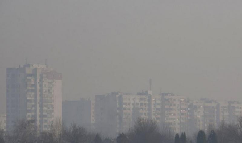 София е на трето място в света по замърсяване на