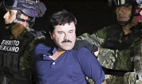 """Мексиканският наркобарон Хоакин Гусман, известен с прозвището """"Ел Чапо"""", е"""