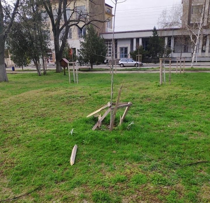 За броени часове полицията в Бяла Слатина разкриха вандалите, вилнели
