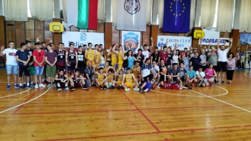 Отборът на сръбския град Зайчар спечели двудневния турнир по баскетбол