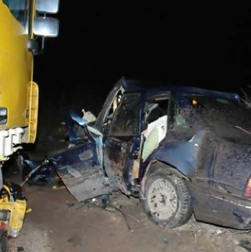 Пореден пиян шофьор е причинил катастрофа тази нощ близо до
