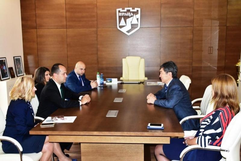 Кметът на oбщина Враца Калин Каменов посрещна ръководителя на дипломатическата