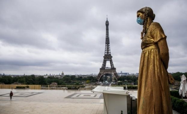 Франция отбеляза нов тревожен рекорд за 1 денонощие - над