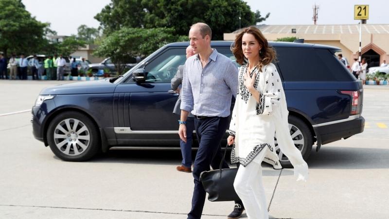 Херцогът и херцогинята на Кеймбридж се върнаха обратно в Исламабад