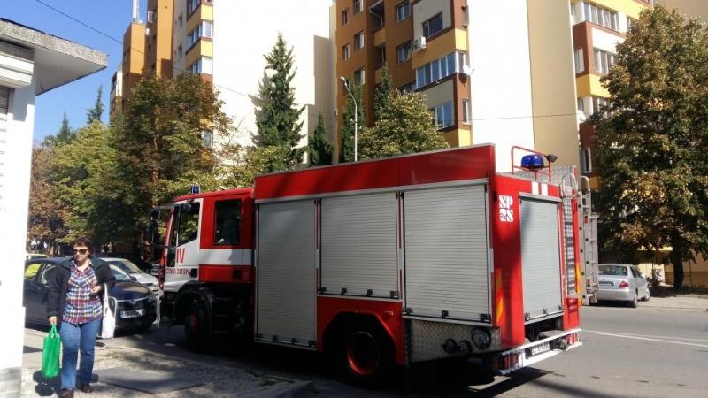 Газова бутилка пламна в Стара Загора, има пострадала жена