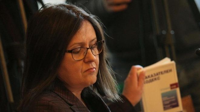 Зам.-главният прокурор Мария Шишкова подаде оставка, стана ясно на заседанието