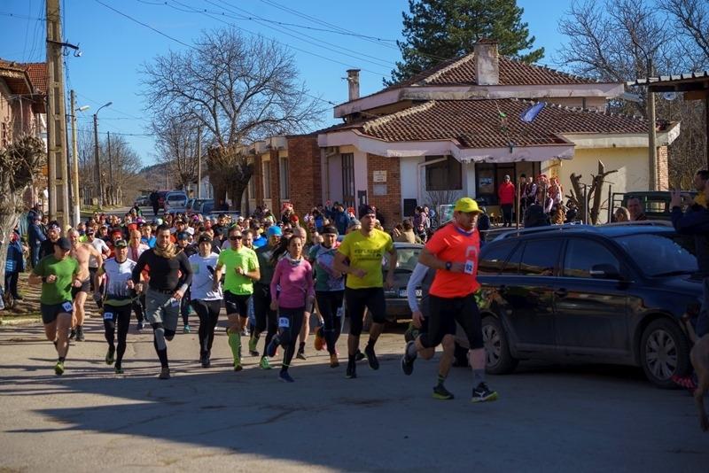 133-ма любители на планинското бягане от цяла България взеха участие