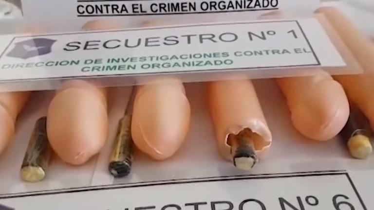 Аржентинската полиция хвана контрабанда на кокаин в пластмасови пениси
