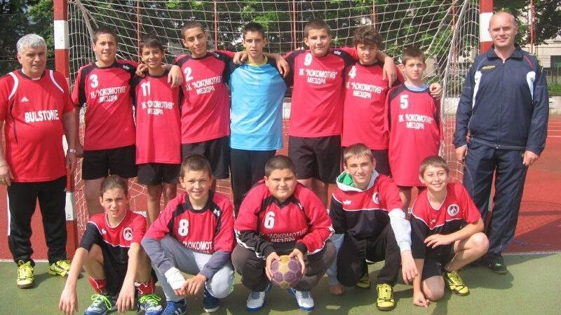 """U19 на """"Локо"""" /Мездра/ е есенен първенец по хандбал в зона """"Витоша"""""""