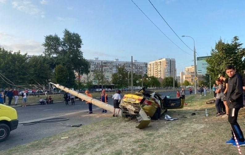 В руския град Краснодар водач на автомобил BMW M4 e