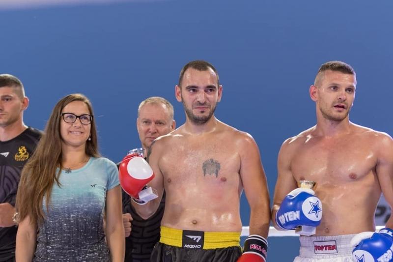 Резултат с изображение за кик бокс Иван Кръстанов