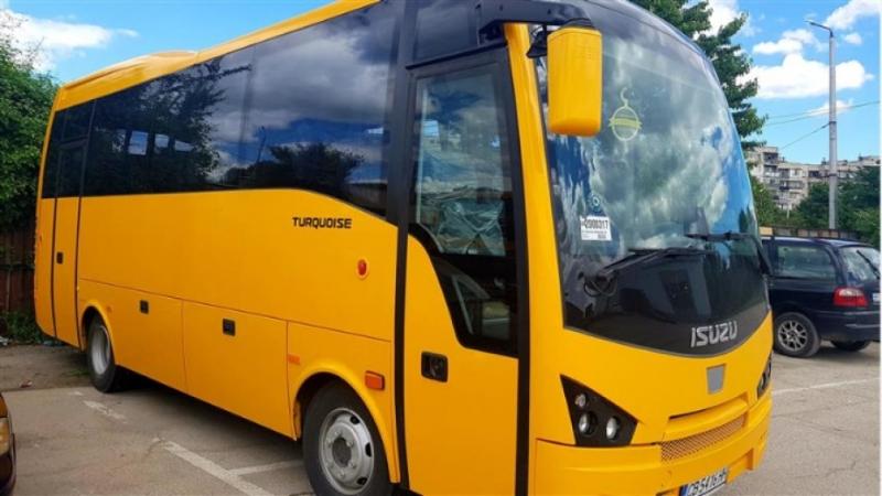 Нов автобус ще вози  учениците от училището в Тишевица