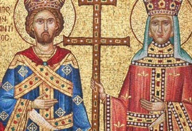 На 21 май църквата почита паметта на Св. Константин и