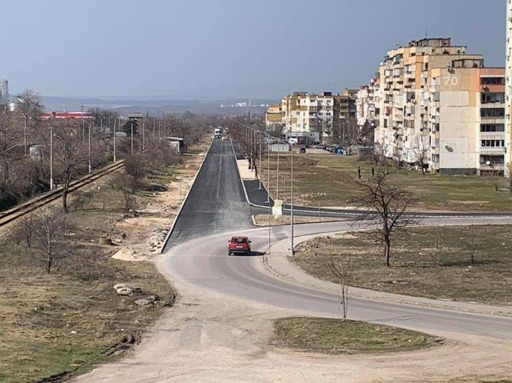 """Заради полагане на хоризонтална маркировка по бул. """"Европа"""" във Враца,"""