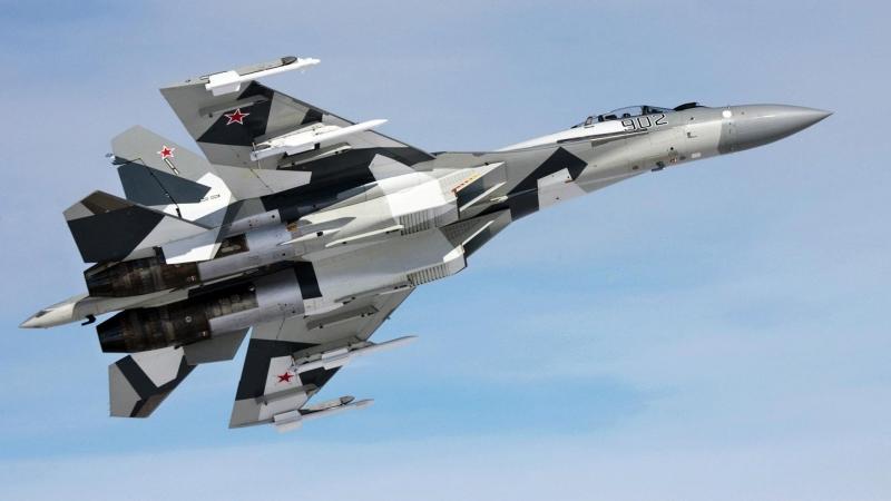 Снимка: Руски изтребители се сблъскаха във въздуха