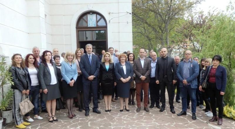 Предизборната кампания на ПП ГЕРБ за област Враца бе открита
