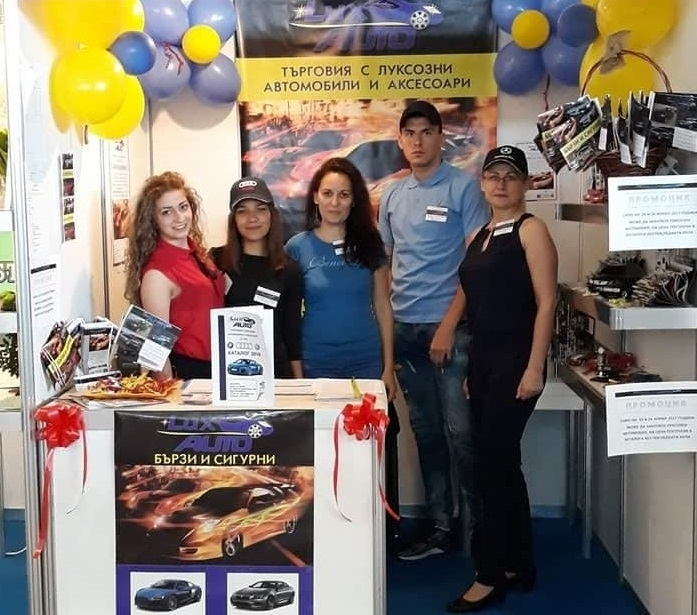 ПГТР във Враца взе участие в Панаир на учебните предприятия в Пловдив