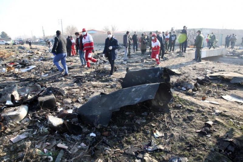 Черните кутии на украинския пътнически самолет Боинг-737, който бе свален