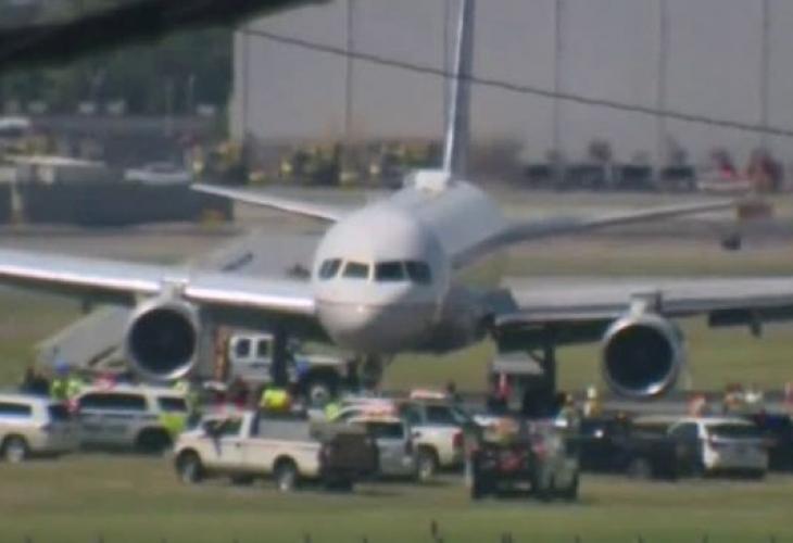 Инцидент с пътнически самолет затвори международното летище в американския град