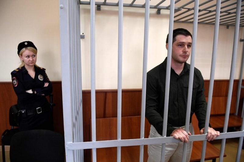 Съд в Москва осъди на 9 години затвор студента от