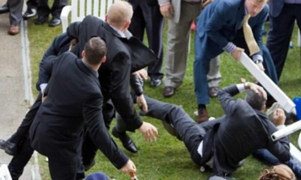 Снимка: 17-годишен спретна масов бой на сватба в Старосел