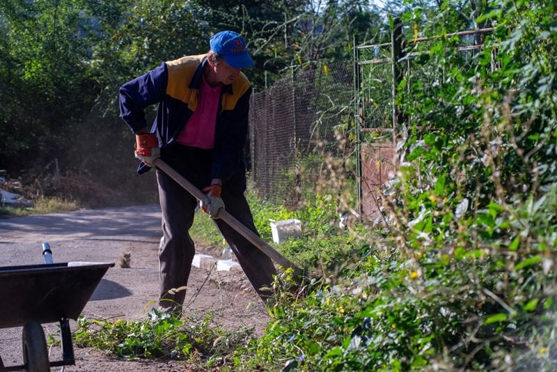 В Ребърково положиха грижи за подобряване на чистотата и за благоустрояване на селото /снимки/