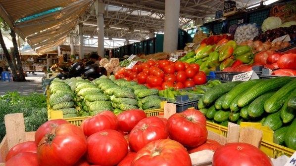 В края на август цените на плодовете и зеленчуците вървят
