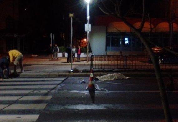 Снимка: Пиян шофьор уби момиче, не спрял, отишъл на дискотека
