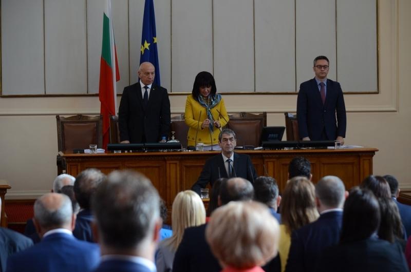 Директорът на врачанския театър Анастас Попдимитров положи клетва като депутат