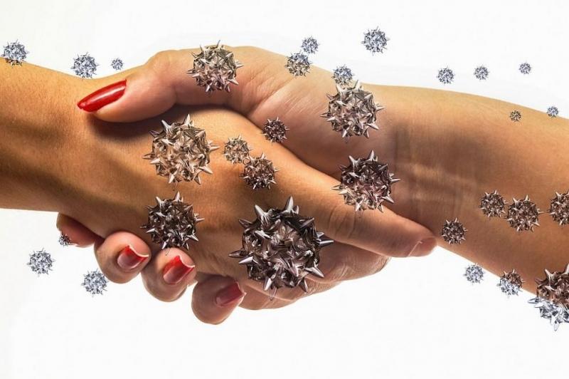 Коронавирусът остава жизнеспособенвърху човешките ръце около десет минути, след което