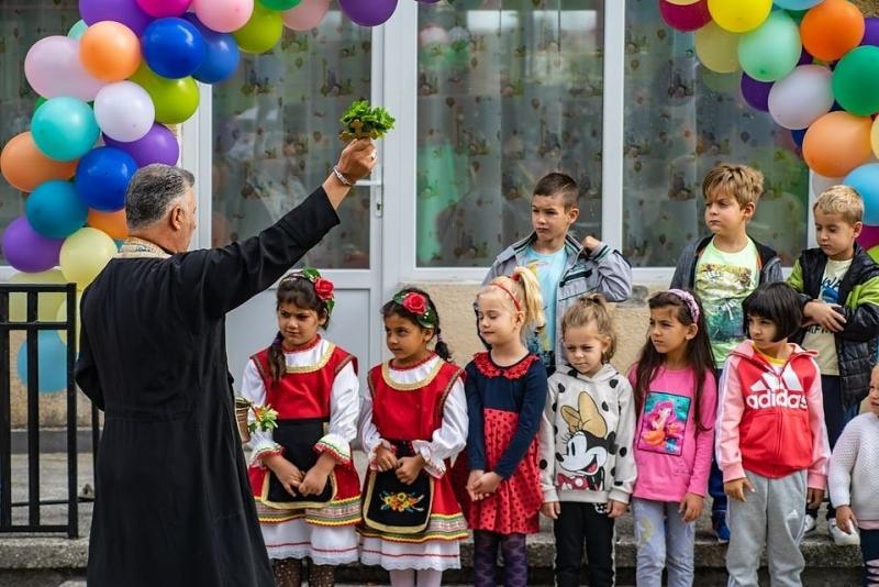 С водосвет за здраве, отслужен от енорийския свещеник отец Дилян
