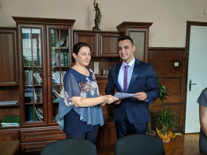 Никола Делиев встъпи в длъжност като нов съдия и положи