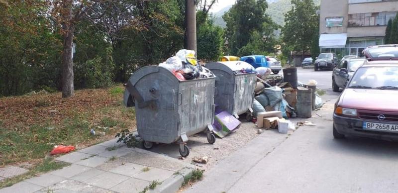 Нарушител на общинска наредба почисти нерегламентирано изхвърлени отпадъци. След подаден