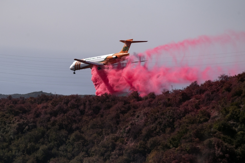 Нов голям пожар наложи спешна евакуация в Калифорния. За да