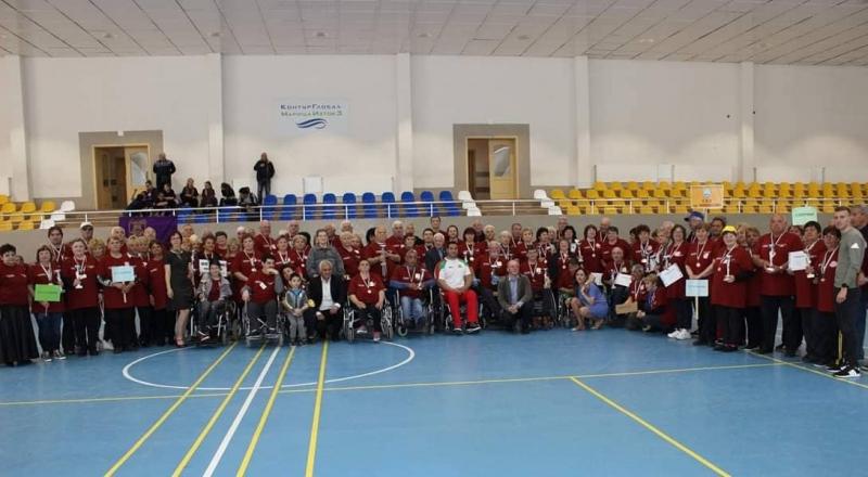 Петите спортни игри за хора с увреждания се проведоха в