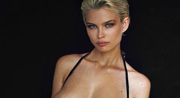 Юлия Логачева определено има впечатляващи, любопитни и добре смазани очи.