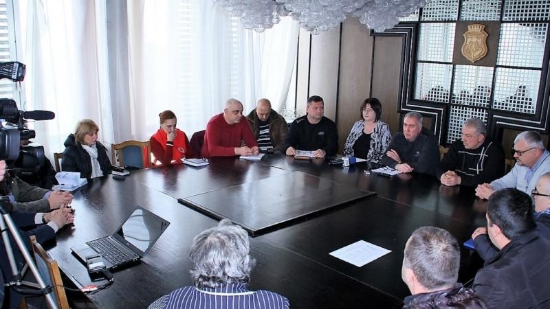 Отменено е бедственото положение в общинаВидинслед обилния снеговалеж вчера, когато