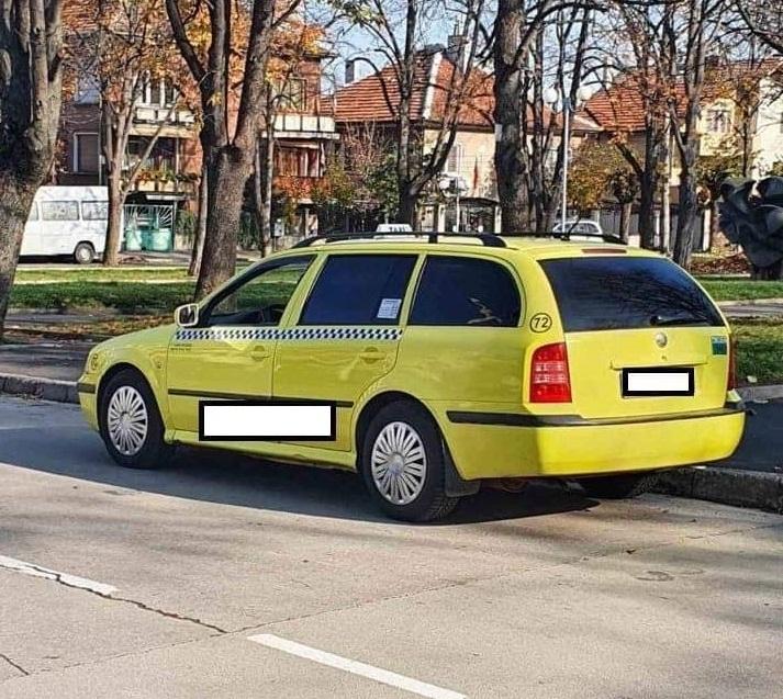Днес е бил санкциониран таксиметров шофьор без разрешително, съобщиха от