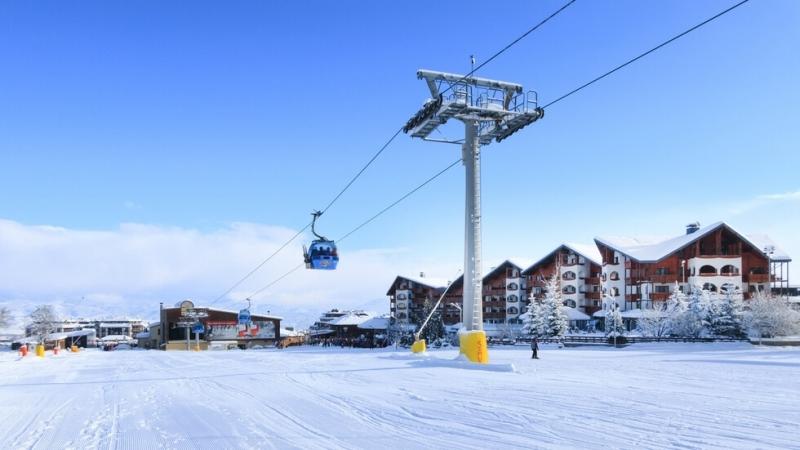 Световната ски легенда Марио Мат и новият мажоритарен собственик на