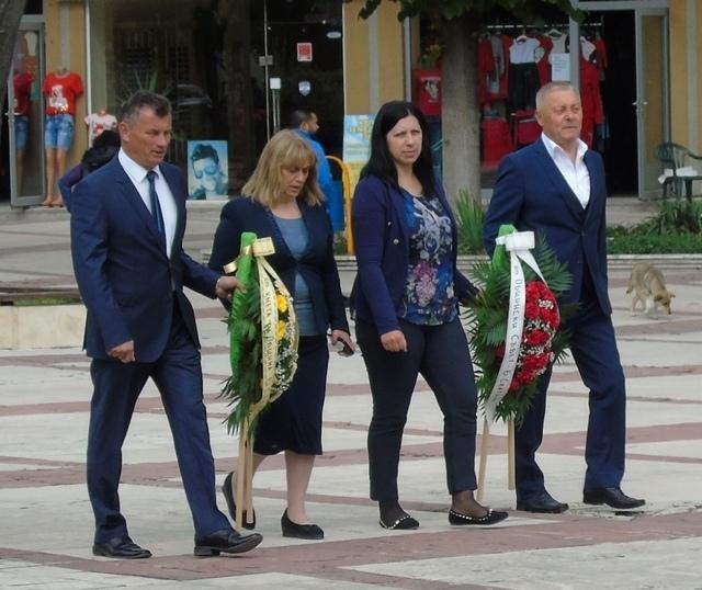 На днешния 2-ри юни кметът на община Бяла Слатина, инж.