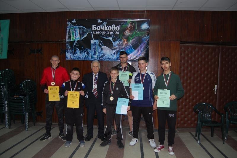 Антоан Тихомиров и Кристиян Александров станаха победители в проведеното в