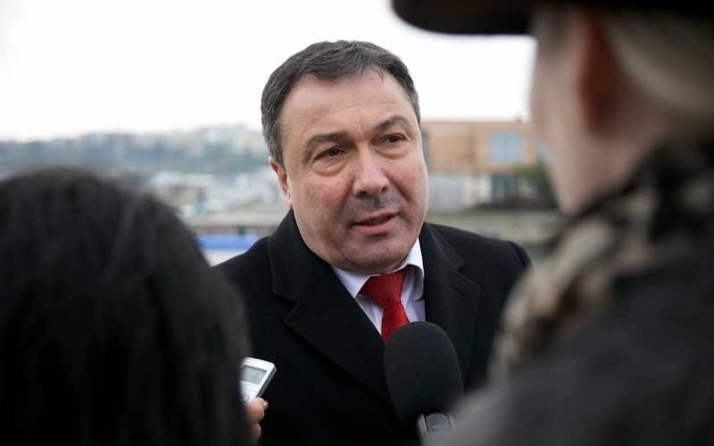 Кметът на Несебър Николай Димитров, който е независим кандидат за